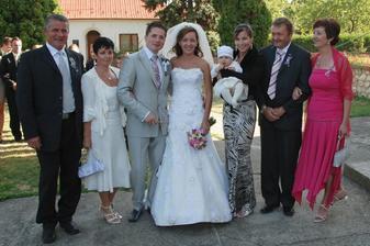 Miskovi rodicia, Miskova sestra s malou neterkou a moji rodicia
