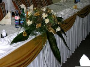 tiež na svadobný stôl