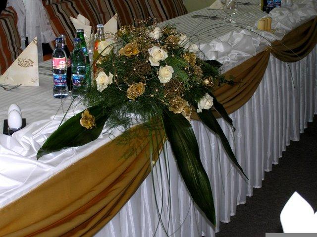 Takto to bude vyzerať - tiež na svadobný stôl