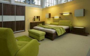 pěkná ložnice