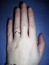 moj zasnubny prstienok, najkrajsi na svete :)