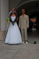 jsem asi jediná nevěsta v ČR, která má chomout :-)