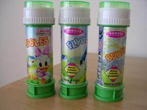 a budú bublinky!!!