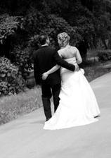 vyrážame na spoločnú cestu životom... veríme, že bude taká krásna ako náš svadobný deň  :)