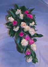 svatební kytice převislé