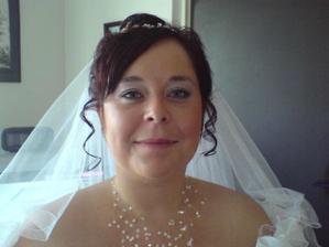 úplně první fotka nevěsty po úpravách