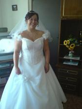 jedna z prvních fotek nevěsty