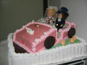 svadobna torta od mojej krstnej mamy