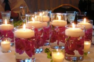 na svatební stůl