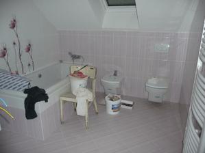 Přidělaný bidet s wc...
