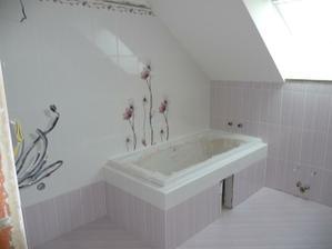 Horní koupelna....skoro hotová...