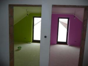 dětské pokojíky.....