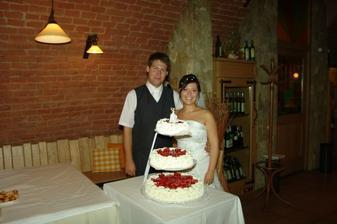 Vynikající dortík - mňam, mňam, mňaaaam:o)