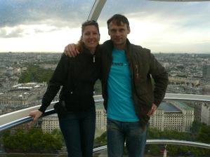 My dvaja fotka z vyletu v Londyne z minuleho tyzdna