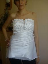 Začínáme šít svatební šaty...s mamčou