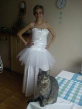 První patro tylové sukně...