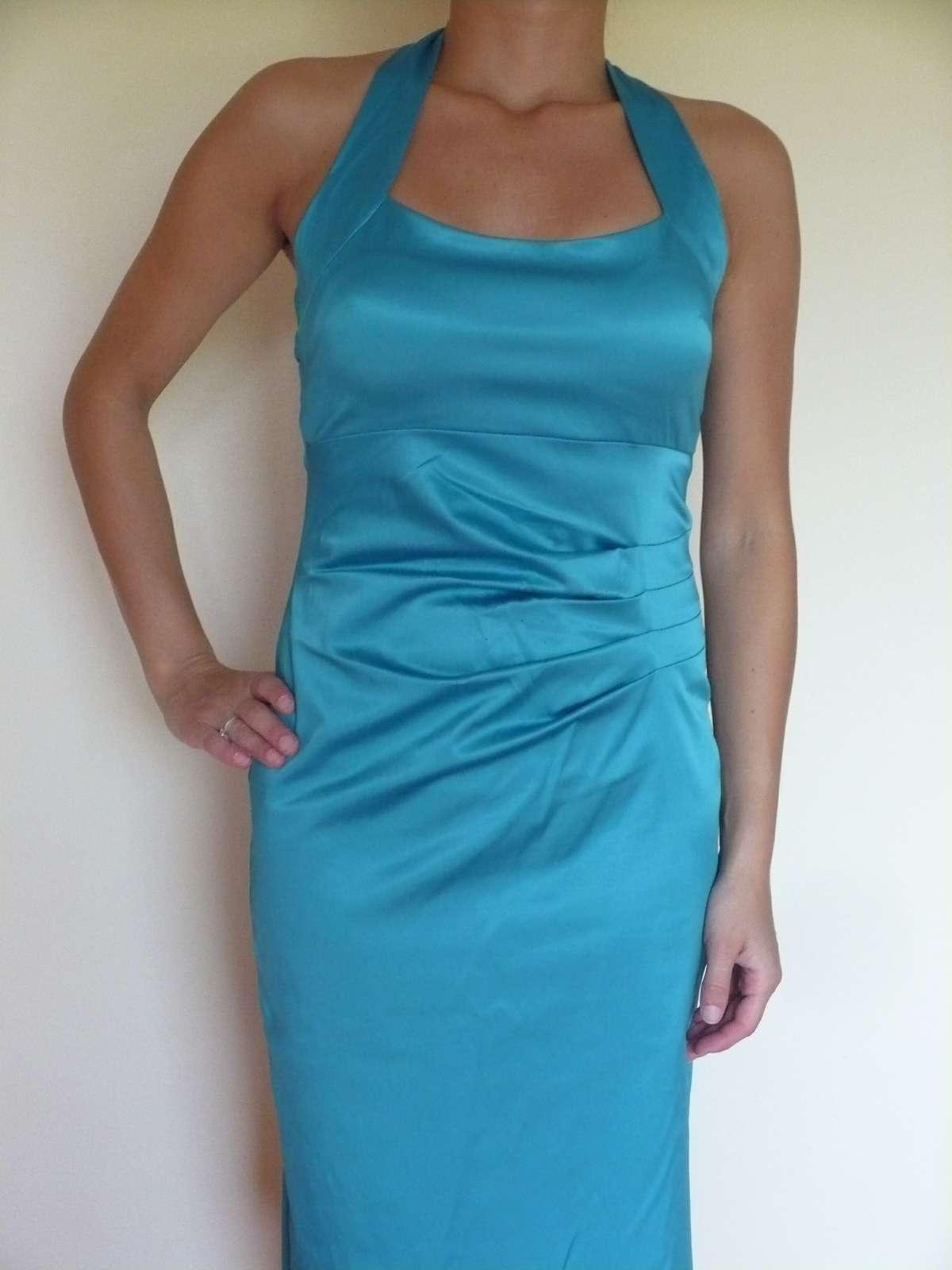 Spoločenské šaty veľ. 36-38 - Obrázok č. 1