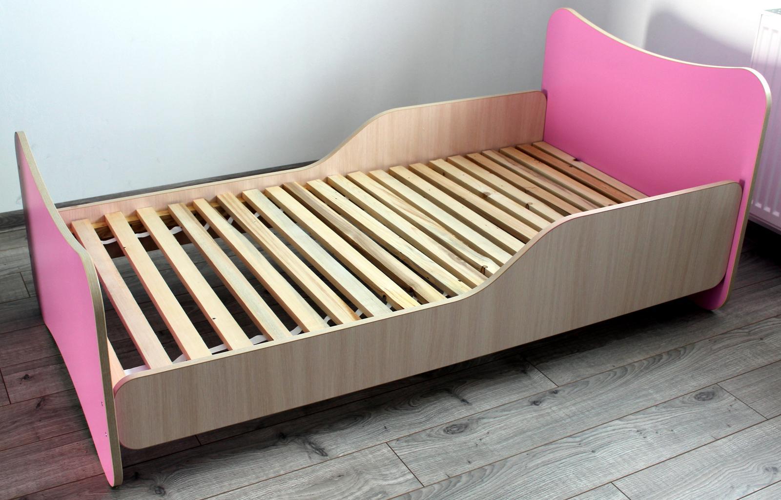Dievcenska postel 85x165 - Obrázok č. 1