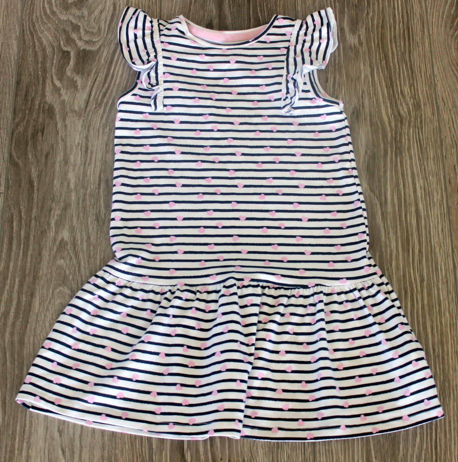 Dievčenské šaty 116 - Obrázok č. 1