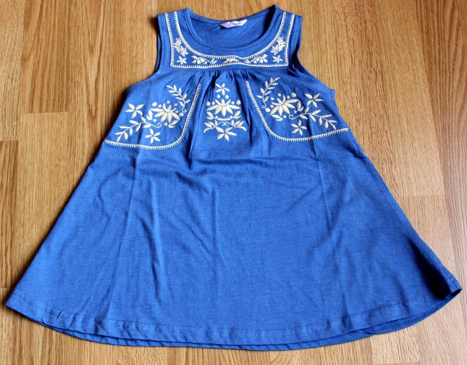 Dievčenské šaty 98 - Obrázok č. 1