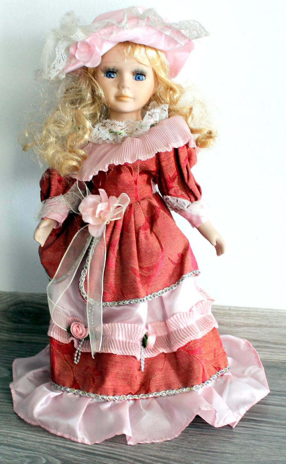 Porcelánová bábika - Obrázok č. 1