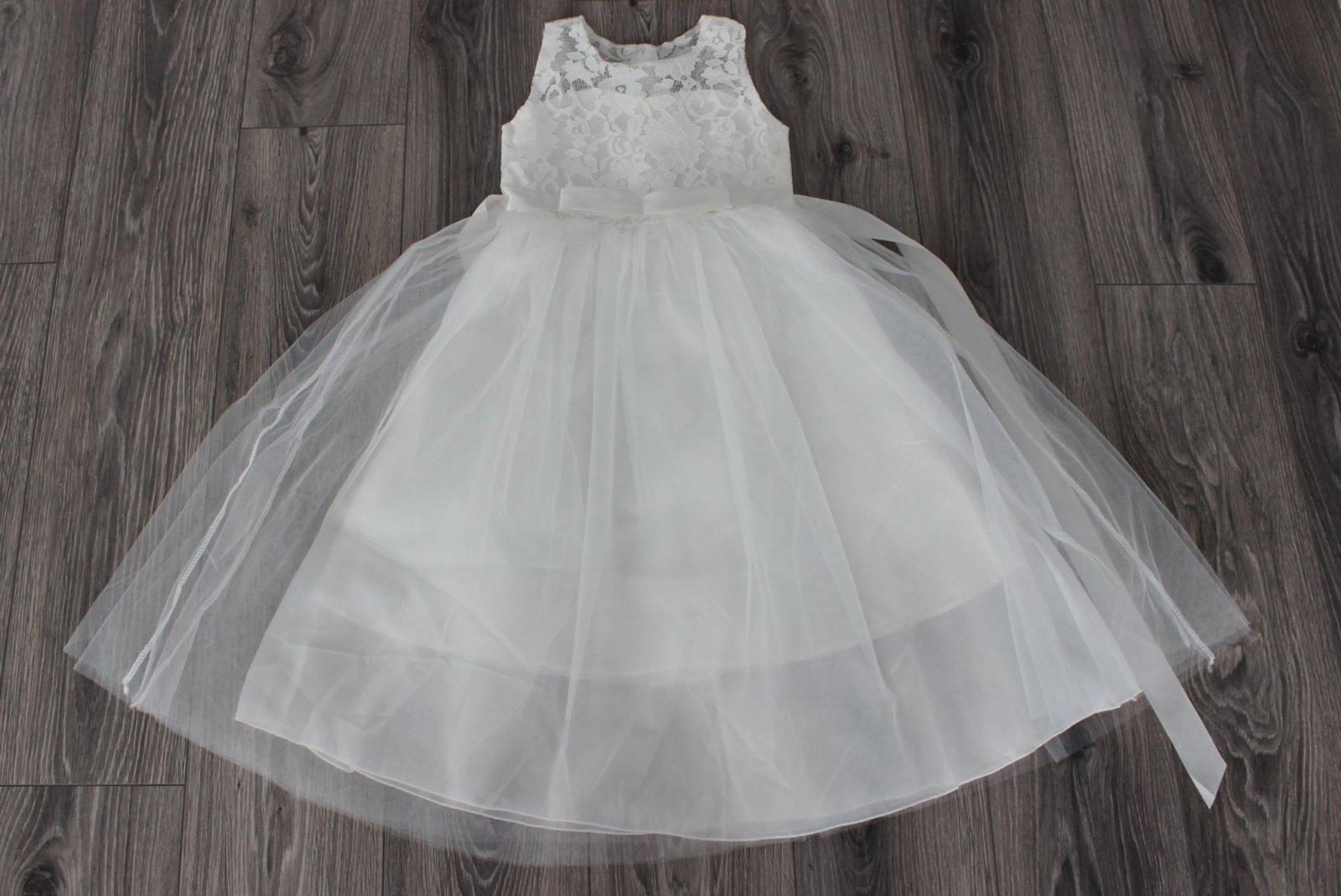 Dievčenské šaty veľ. 122/128 - Obrázok č. 1