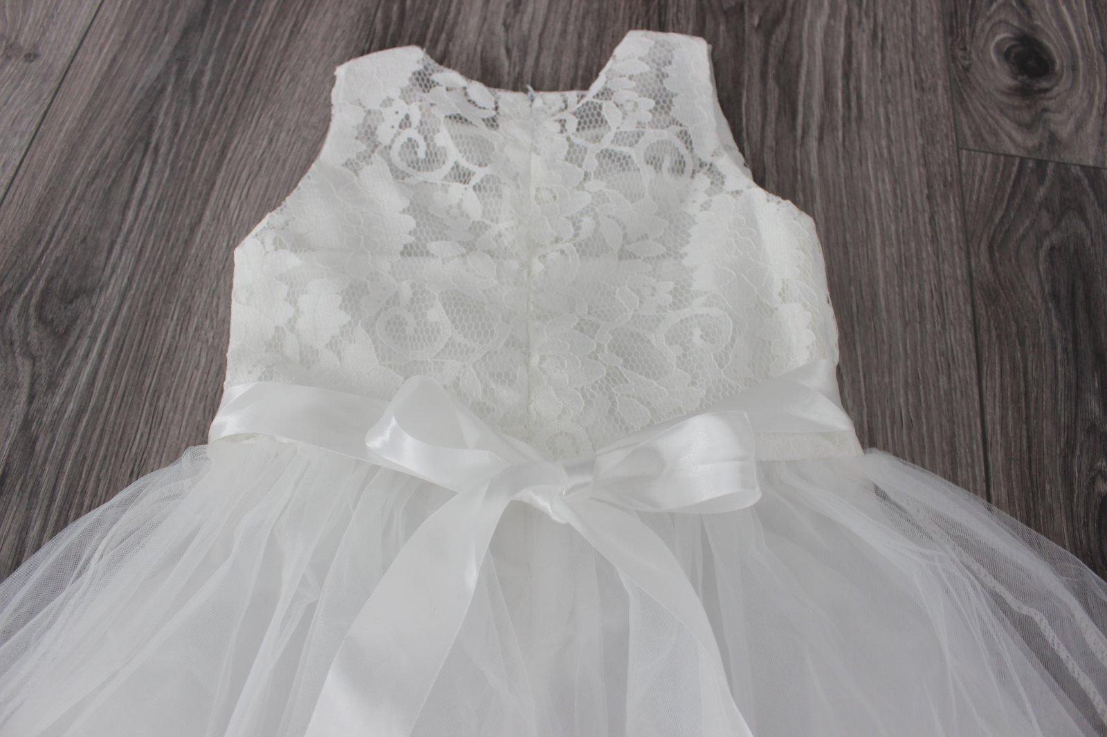 Dievčenské šaty veľ. 122/128 - Obrázok č. 2