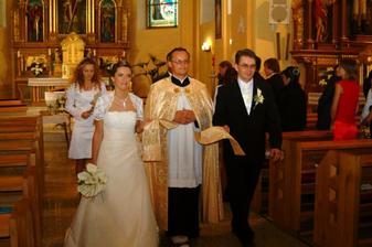 šťastní manželia