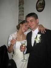 a takto milo unavení na konci našej svadbičky