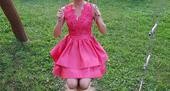 Lososové šaty, 36