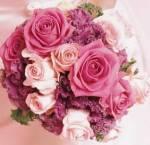 další krásné kytičky pro nevestu...