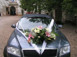 svatební kočár;)