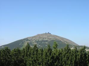 5/7/06 pět dní po svatbě jsme si vyšlapli na Sněžku
