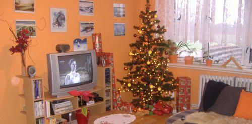 """Naše """"DOMA"""" špelůňka =o) - Vánoce 2008"""