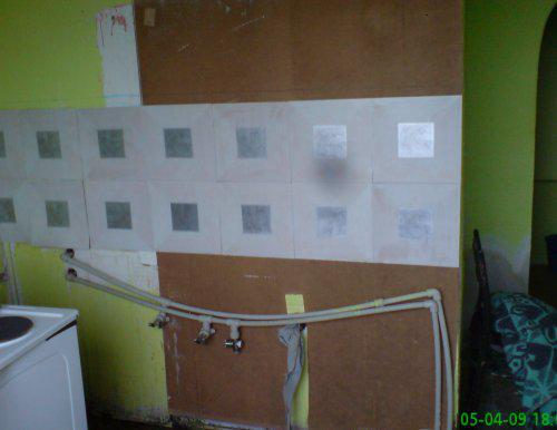 Rekonstrukce špelůňky :o) - ,,,staré škaredé jádro :o((