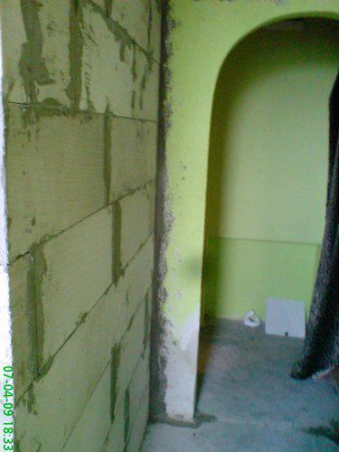 Rekonstrukce špelůňky :o) - 07.04.09 ..tak už je vyzděno :o)