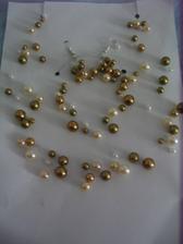 šperky na svatbu - domácí výroba od známé