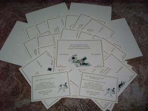 Oznámení a pozvánky ke stolu