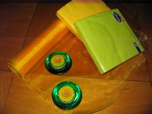 svatba bude žluto zelená
