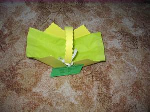 vyrobený košíček na koláčky - ještě budou malé změny