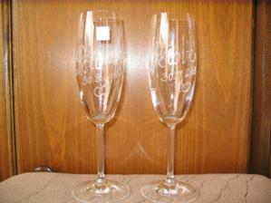 svatební skleničky - dárek pro ženicha