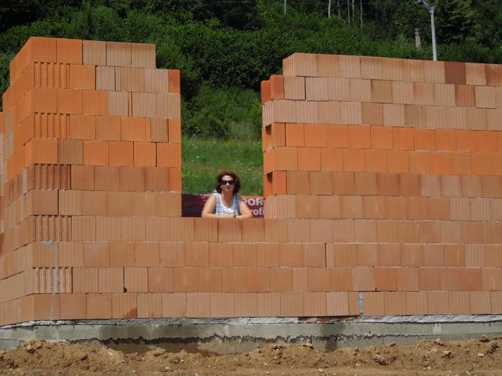 Náš chalupársky sen (Alfa 105) - 7.7.2012 skúška ako sa mi bude pozerať z obývačky :-)