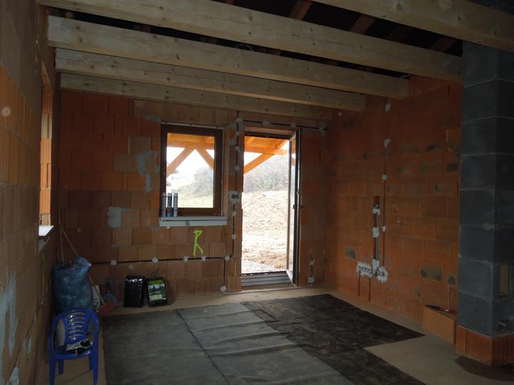 Náš chalupársky sen (Alfa 105) - obývačka