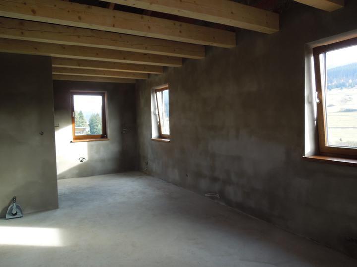 Náš chalupársky sen (Alfa 105) - 9.11.2012 kuchyňo-obyvka