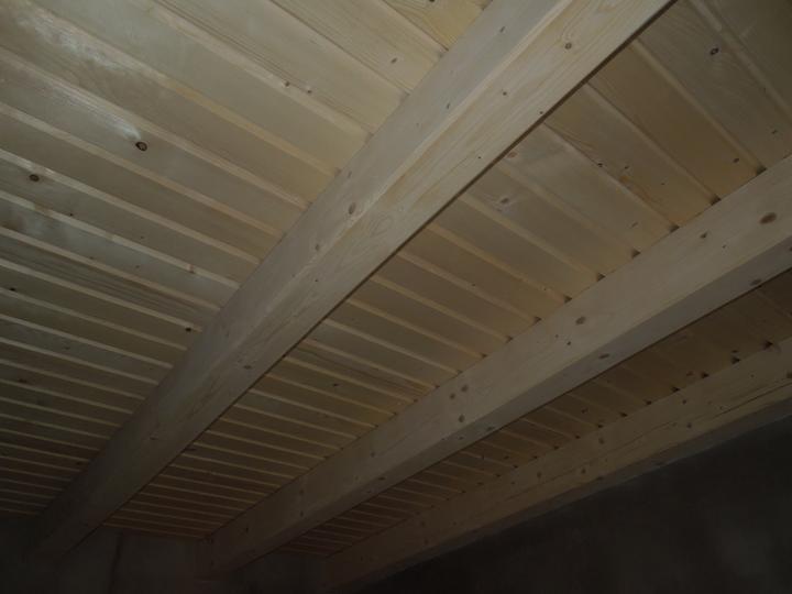 Náš chalupársky sen (Alfa 105) - 2.12.2012 prvé izby hotové