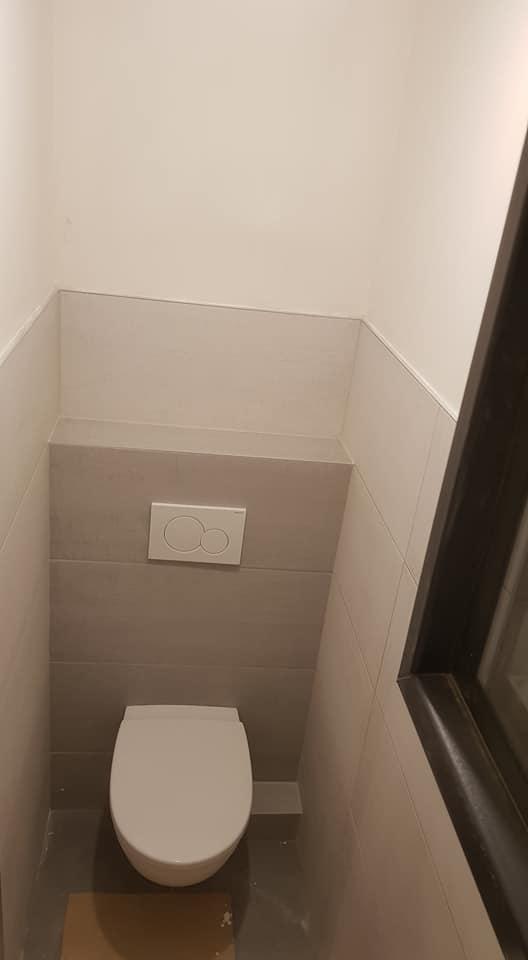 bungalof pri ceresni - Moja prva montaz wc, podla youtube :)