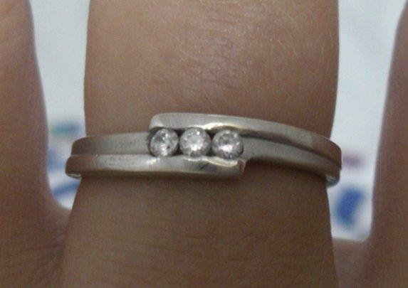 """Náš deň """"D"""" - môj krásny snubný prsteň - tak týmto sa to celé 14.júla 2004 začalo"""