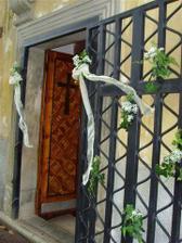 Vchod do kostolika