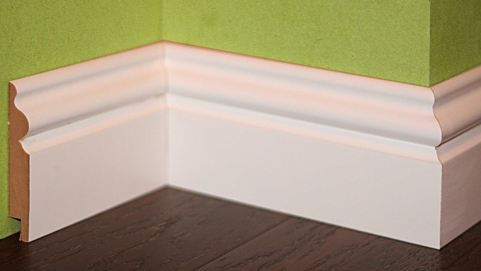 Nové profily striekaných soklových líšt - Rustic E