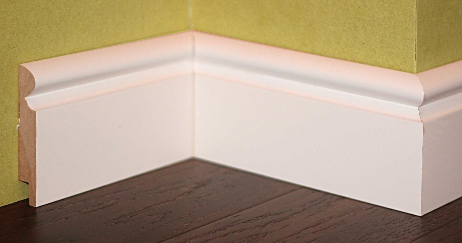 Nové profily striekaných soklových líšt - Rustic D
